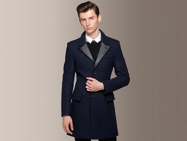 品牌男款大衣