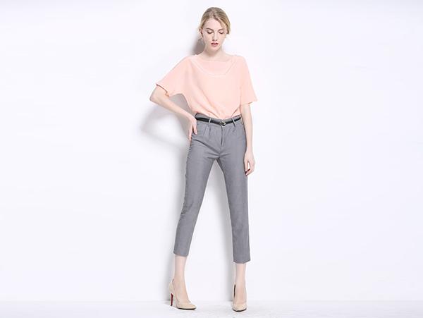 女款七分西裤