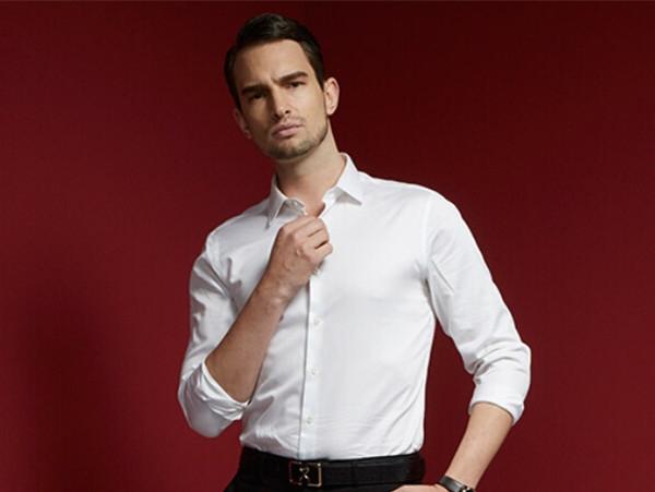 汉阳衬衣男长袖