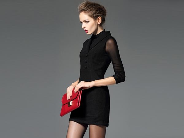 春装连衣裙